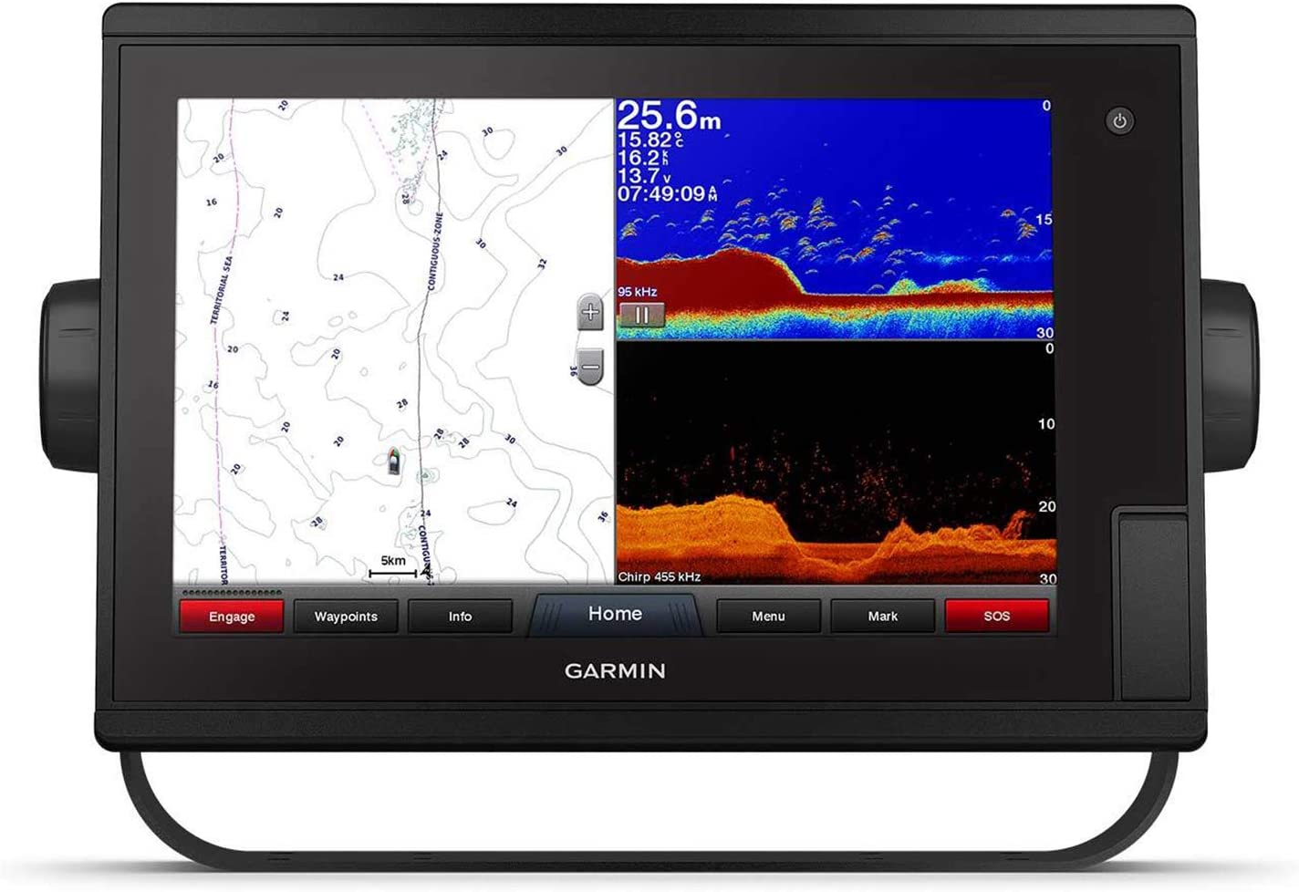 Garmin GPSMAP 1222 - Teléfono GPS con función sonar: Amazon.es ...