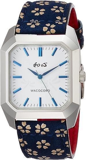 [ワココロ] 腕時計 WA-002M-J ブルー