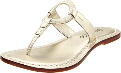 7a82446fa1b Bernardo Women s Matrix New Metallic Thong Sandal