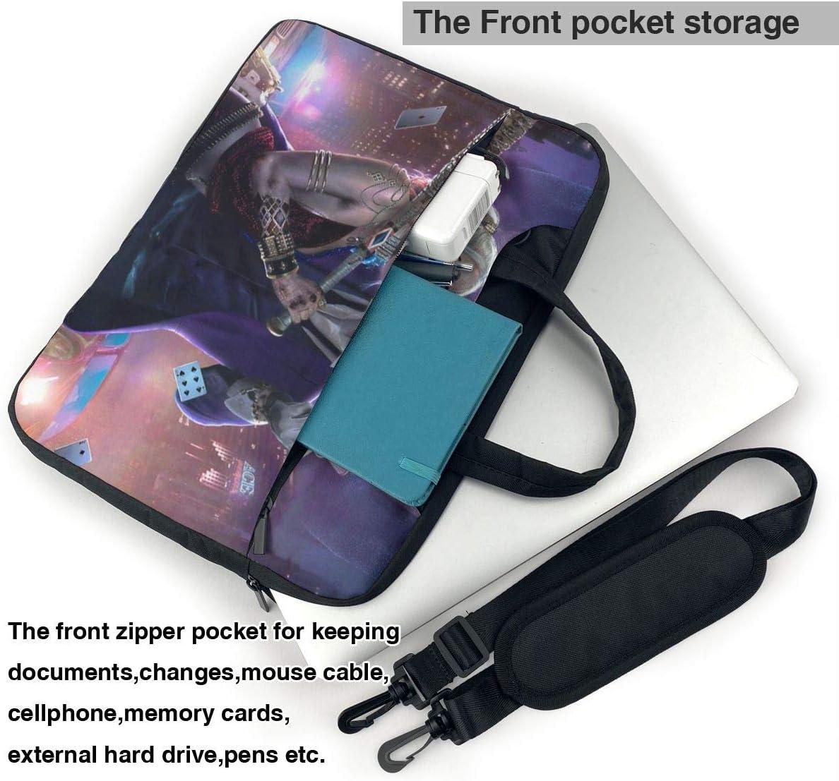 Harley Quinn Laptop Sleeve Case Handheld One Shoulder Shockproof Oxford Protective Case//Notebook Computer Pocket Case//Tablet Briefcase Carrying Bag Compatible-13 inch