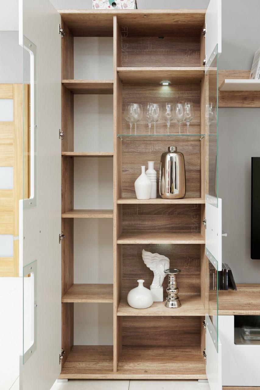 Meubles Rangements Sohalia Avec Armoire Pour Salon Tv Led Amazon  # Finlandek Meuble Tv