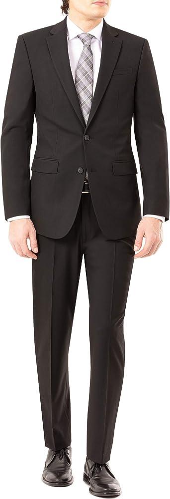 Van Heusen Mens Slim Fit Flex Stretch Suit Separates-Custom Jacket /& Pant Size Selection