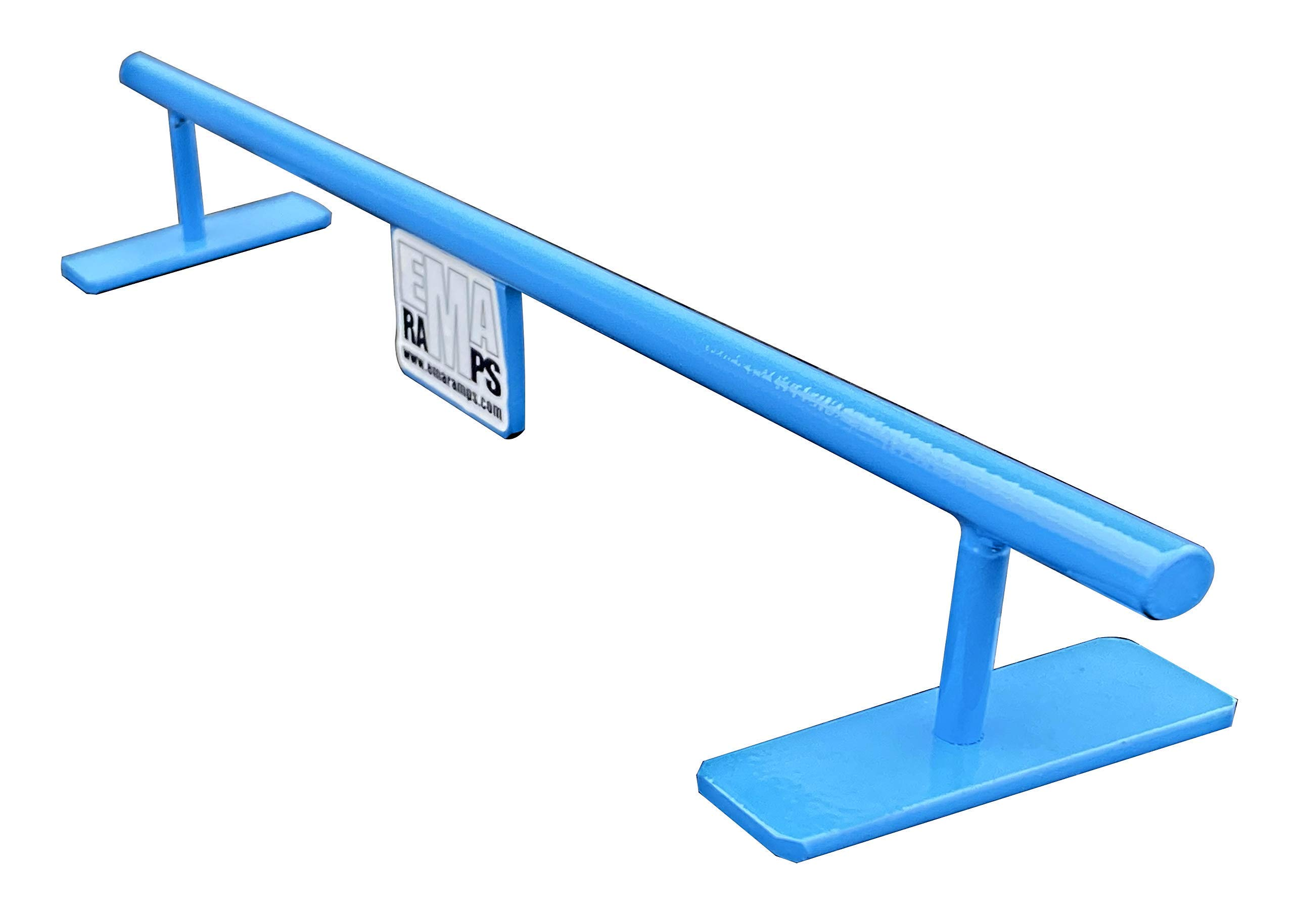 EMA Ramps Fingerboard Rail is Made from 100% Solid Steel Making it The Most Realistic Rail on The Market to be Used with Fingerboard Decks Fingerboard Ramps Also Great Addition for Fingerboard Parks by EMA Ramps