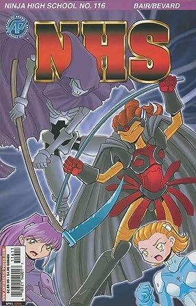 Amazon.com: Ninja High School #116 VF/NM ; Malibu comic book ...