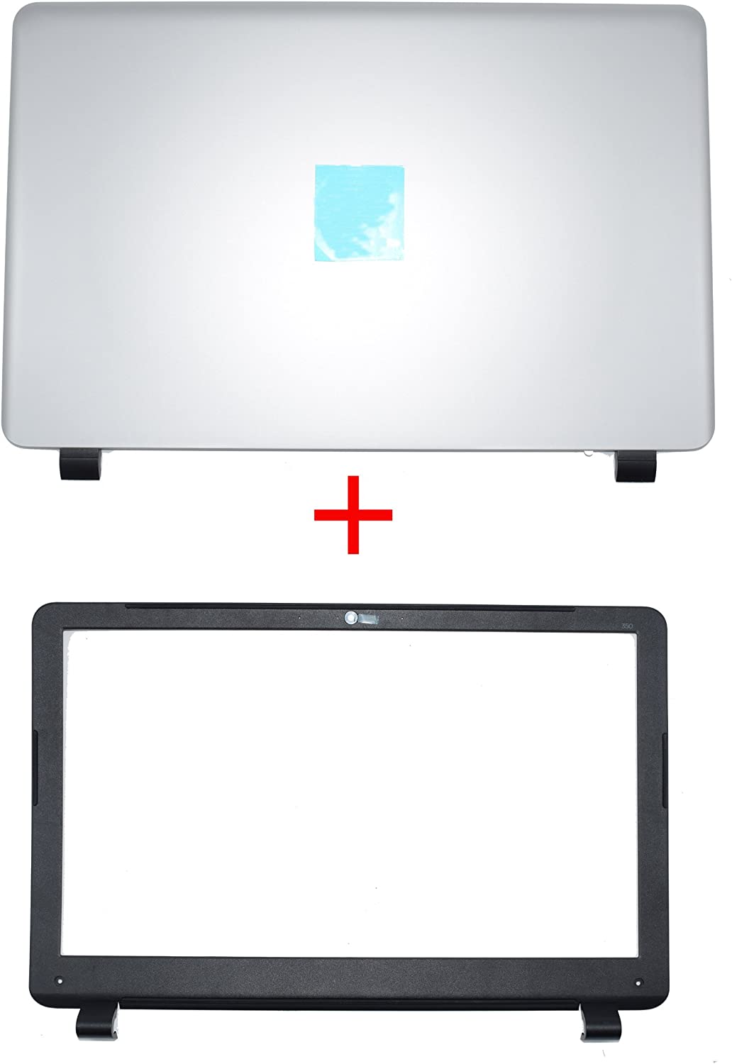New for HP 350 G1 LCD Rear Cover Screen Lid Top Shell & Front Frame LCD Bezel with Camera Hole 758057-001 758055-001