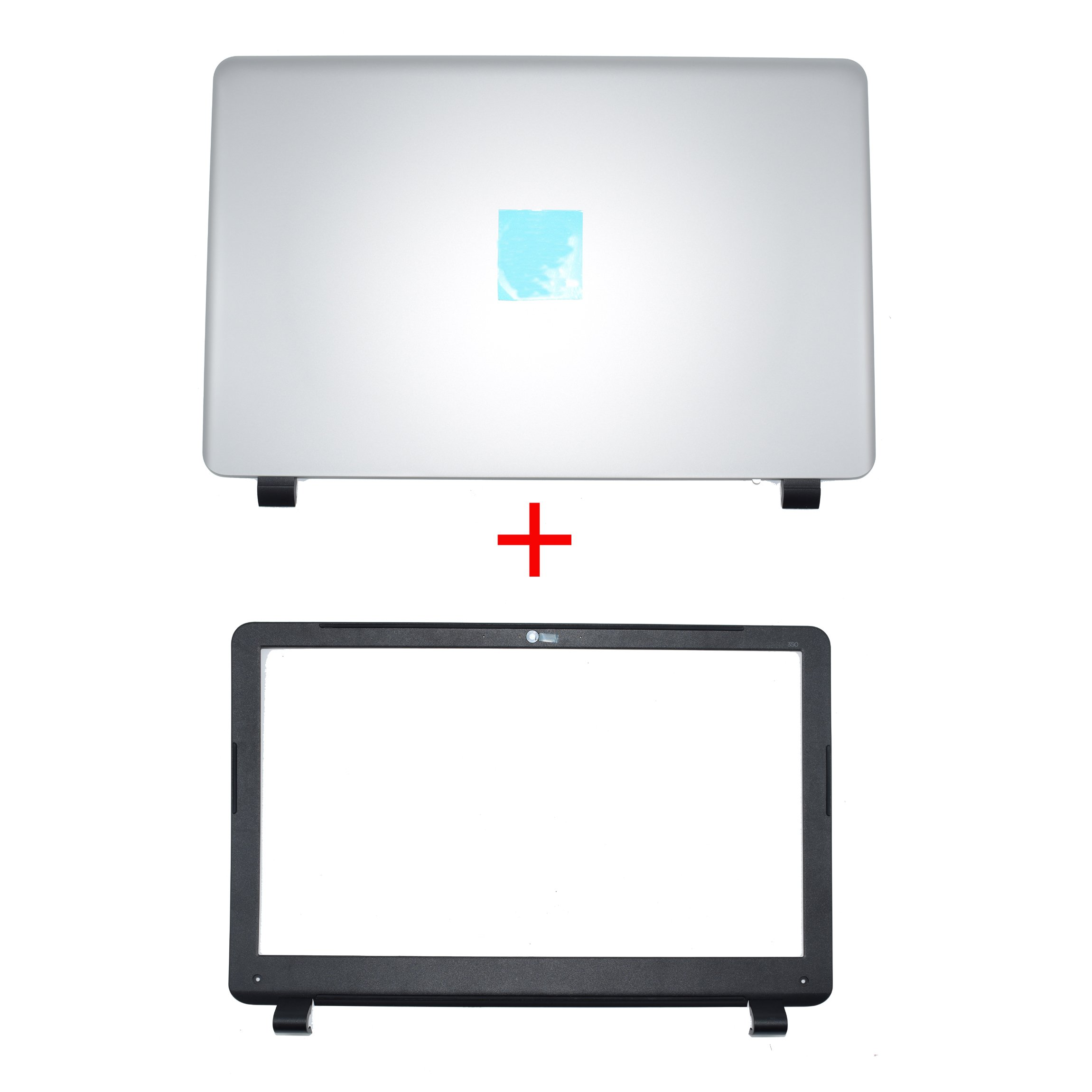 New For HP 350 G1 Lcd Rear Cover Screen Lid Top Shell & Front Frame LCD Bezel With Camera Hole 758057-001 758055-001 by LHY Parts
