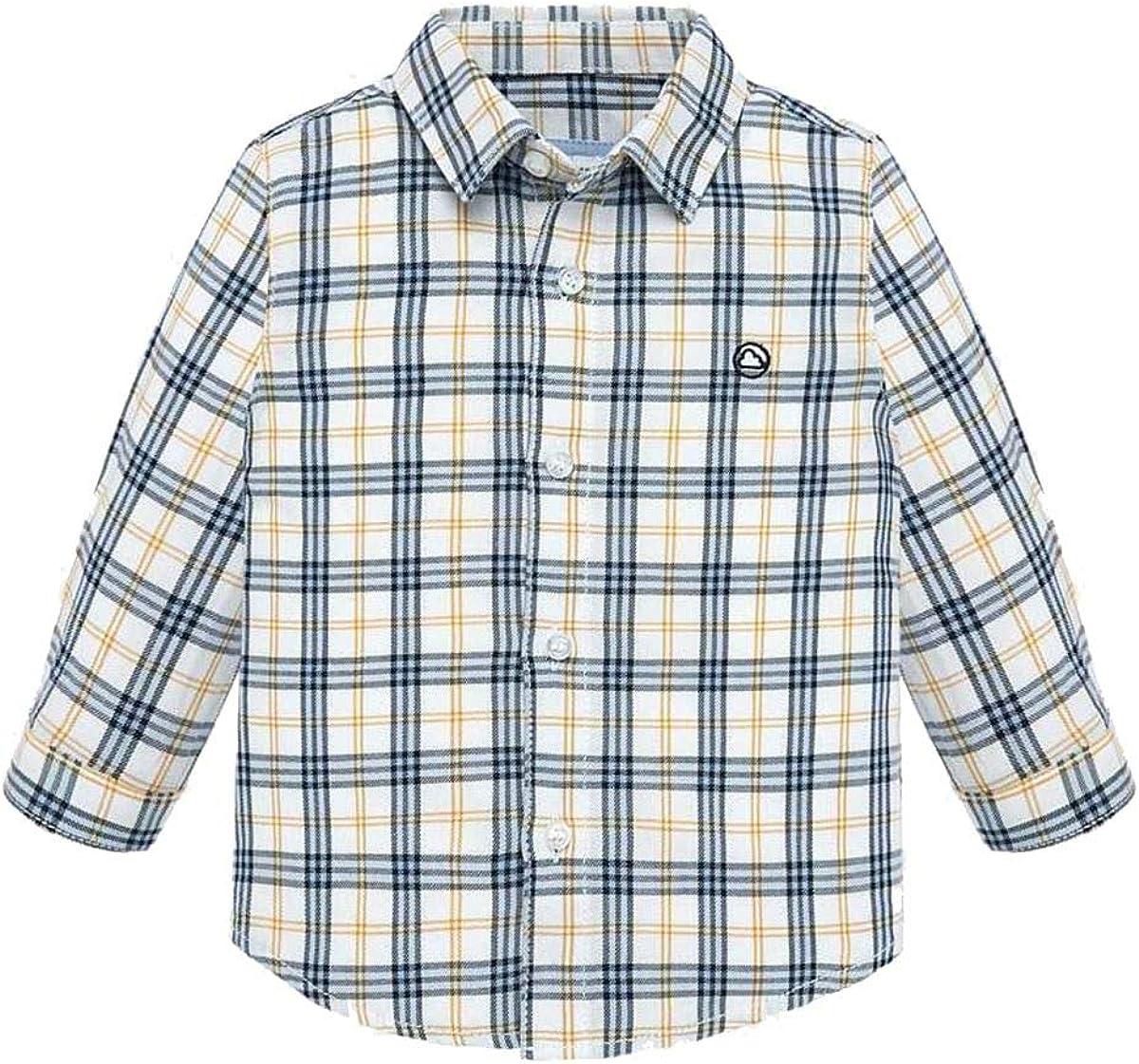 Mayoral - Camisa de cuadros para niño: Amazon.es: Ropa y accesorios