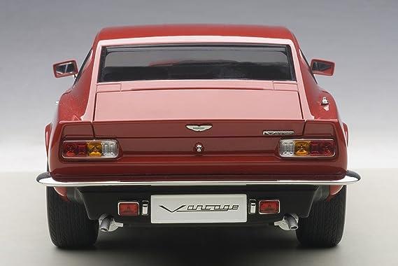 AUTOart - 70222 - Aston Martin V8 Vantage - 1985 - Escala 1/18 - Rojo: Amazon.es: Juguetes y juegos