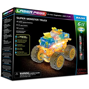 powerful Monster Truck 6-in-1