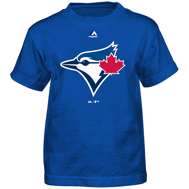 Toronto Blue Jays Toddler Team Logo T-Shirt Majestic