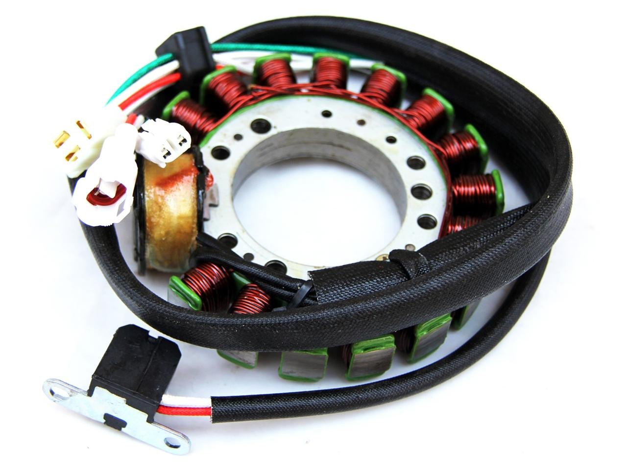 2SF Stator Yamaha ATV Big Bear YFM350 95-98 Kodiak 400 Warrior 350 Magneto IS13 by PCC MOTOR