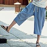 WUAI Mens Harem Pants, Casual Fashion Loose Soft