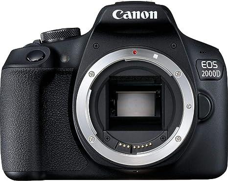 Canon EOS 2000D BK BODY EU26 Cuerpo de la cámara SLR 24,1 ...
