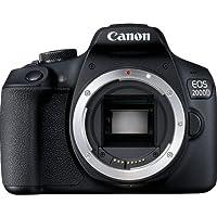 Canon EOS 2000D Reflex Numérique - Boîtier Nu - Noir