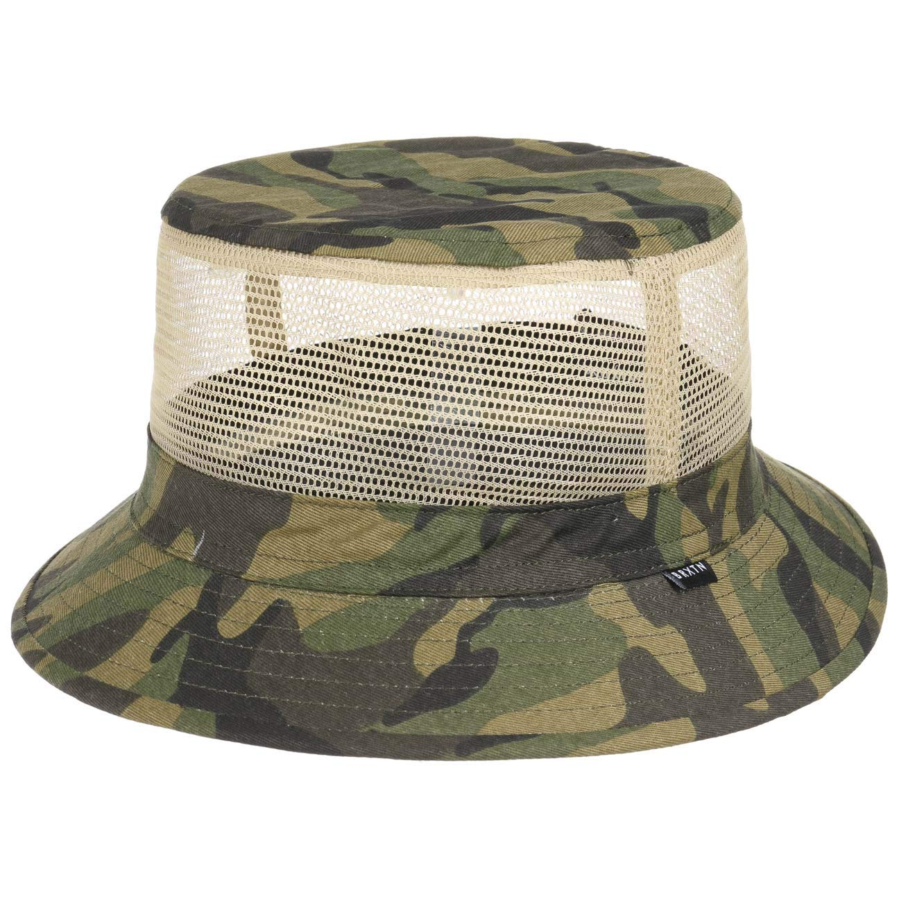 8952b66a Brixton Men's's Hardy Short Brim Mesh Bucket Hat Newsie Cap: Amazon.co.uk:  Clothing