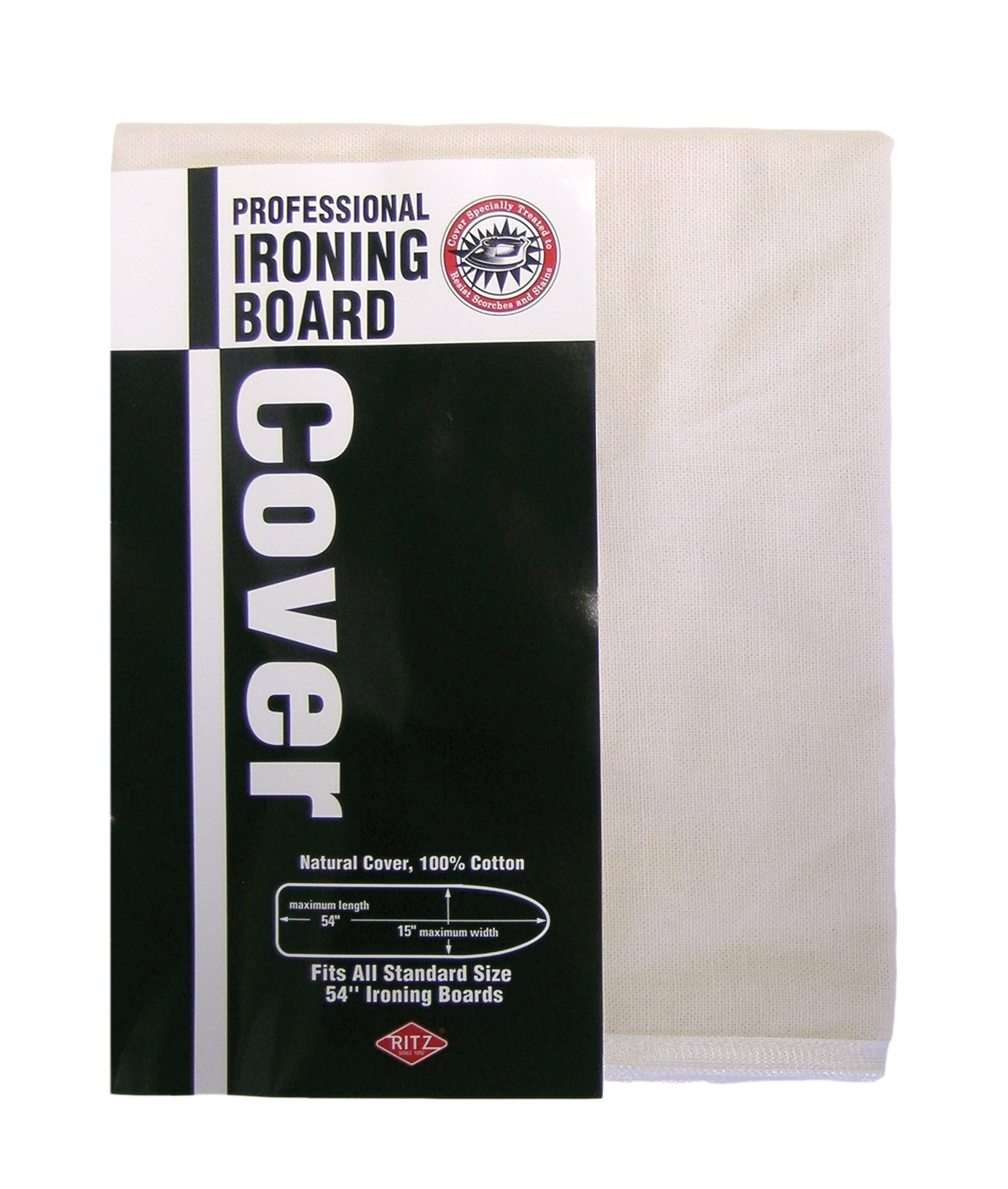Ritz 80500 Ironing Board Cover, Natural