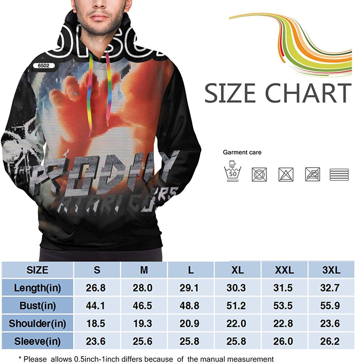 Dfmdfng The Prodigy Pockets Mens Fashion Pullover Hooded Sweatshirt