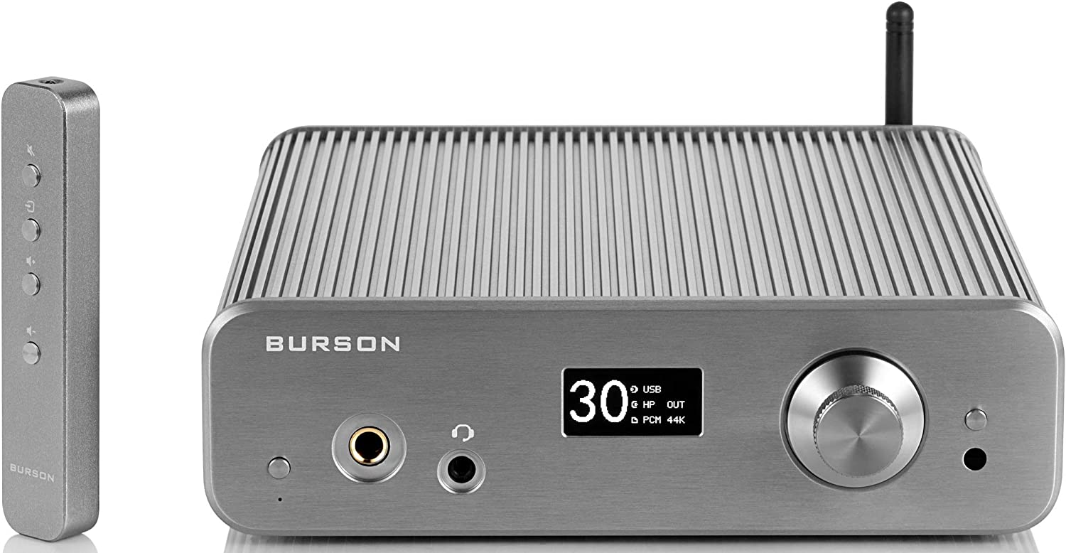 Burson Audio Conductor 3-Performance Headphone Amplifier System with USB DAC, 4W, Space Gray