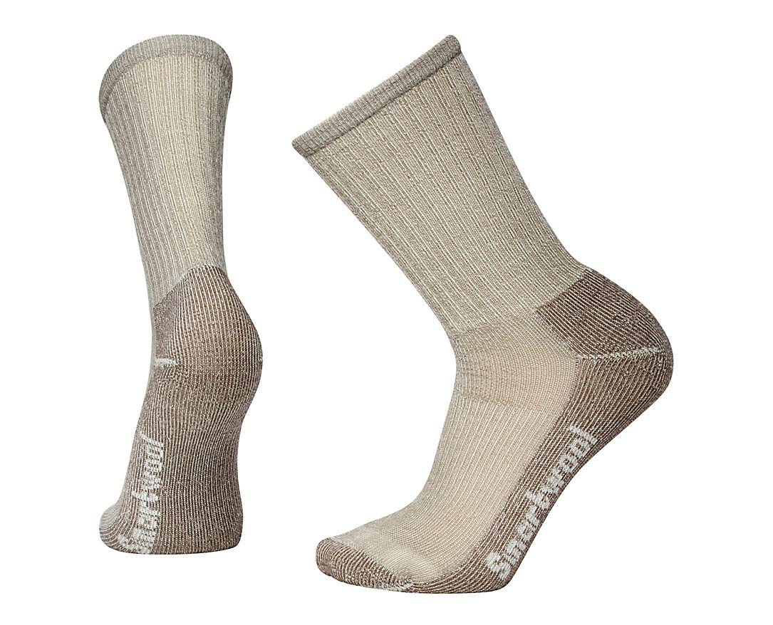 Smartwool Men's Hike Light Crew Socks (Taupe) Medium by Smartwool