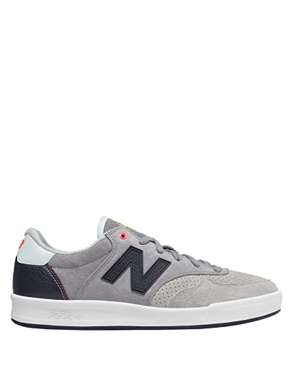 8986d7a7f027 New Balance Men s Men s Leather Tennis Shoes In Grey in Size 42 EU   8 UK