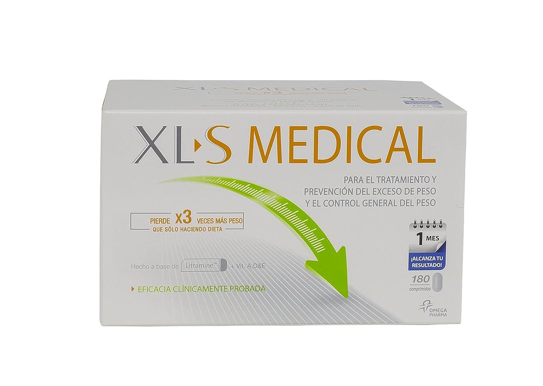 PACK XLS Medical Captagrasas - 2x180 comp - Pierde hasta 3 veces más peso que sólo haciendo dieta. Capta hasta el 28% de la ingesta de grasa.