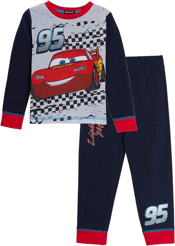 Disney Ragazzi Cars Pigiama Bambini Lightning McQueen Pjs Set Racing Car Nightwear
