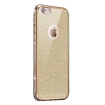 Kompatibel Mit Iphone Se 5 5s Hülle Silikon Glitzertpu Silikon