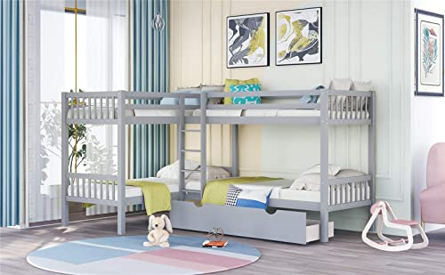 Inside Out Bunk Childrens Bed Frame