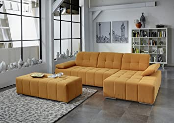 Dreams4Home Polstergarnitur \'Retro II\', Ecksofa, Sofa ...