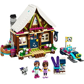 LEGO Friends Snow Resort Chalet 41323 Building Set: Amazon.es: Juguetes y juegos