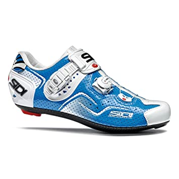 Sidi Kaos Air - Zapatillas para ciclismo de ruta, color azul, tamaño 47