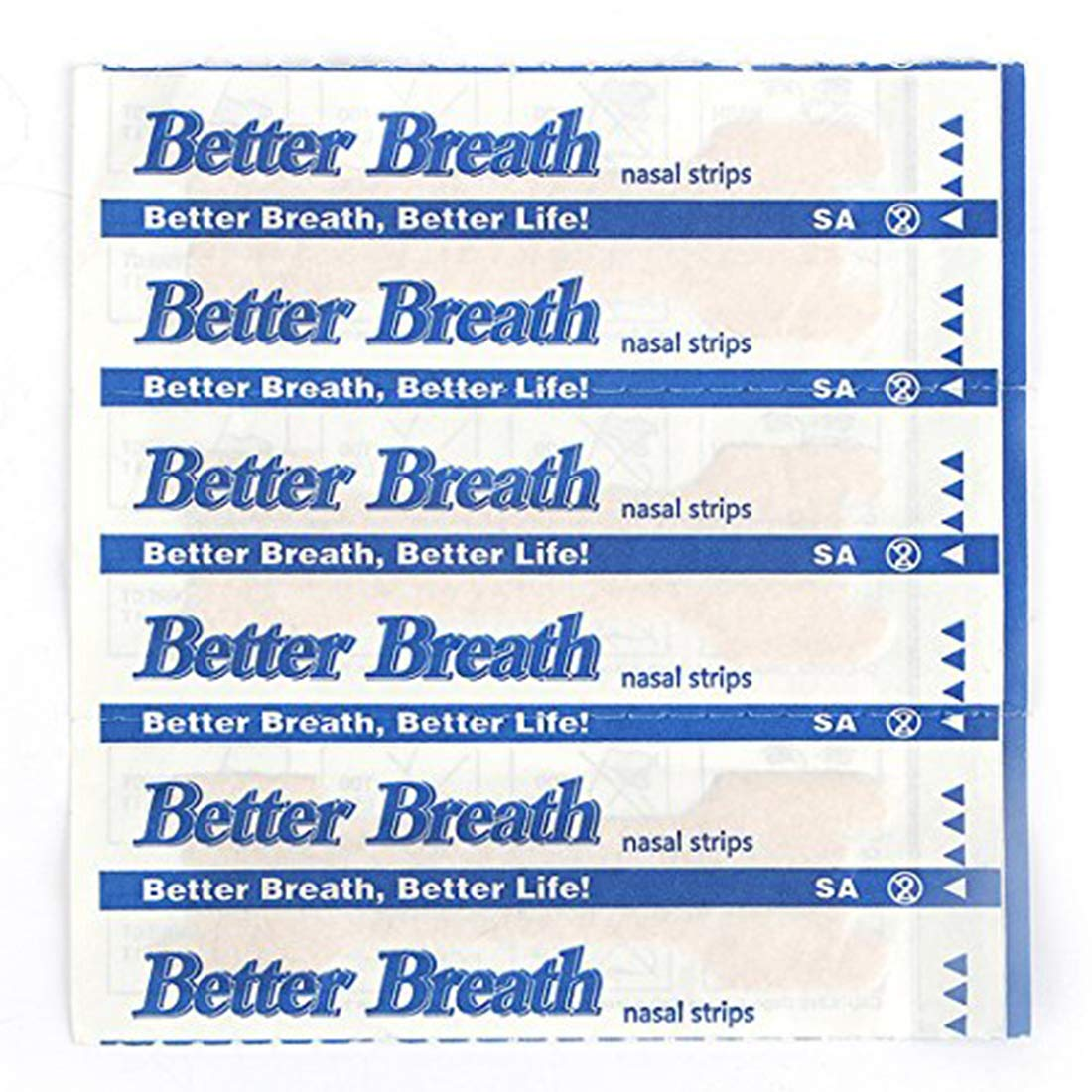 50-300 Count Nasal Strips Better Breath Anti Snoring (66mm*19mm) (300) by DO BEST