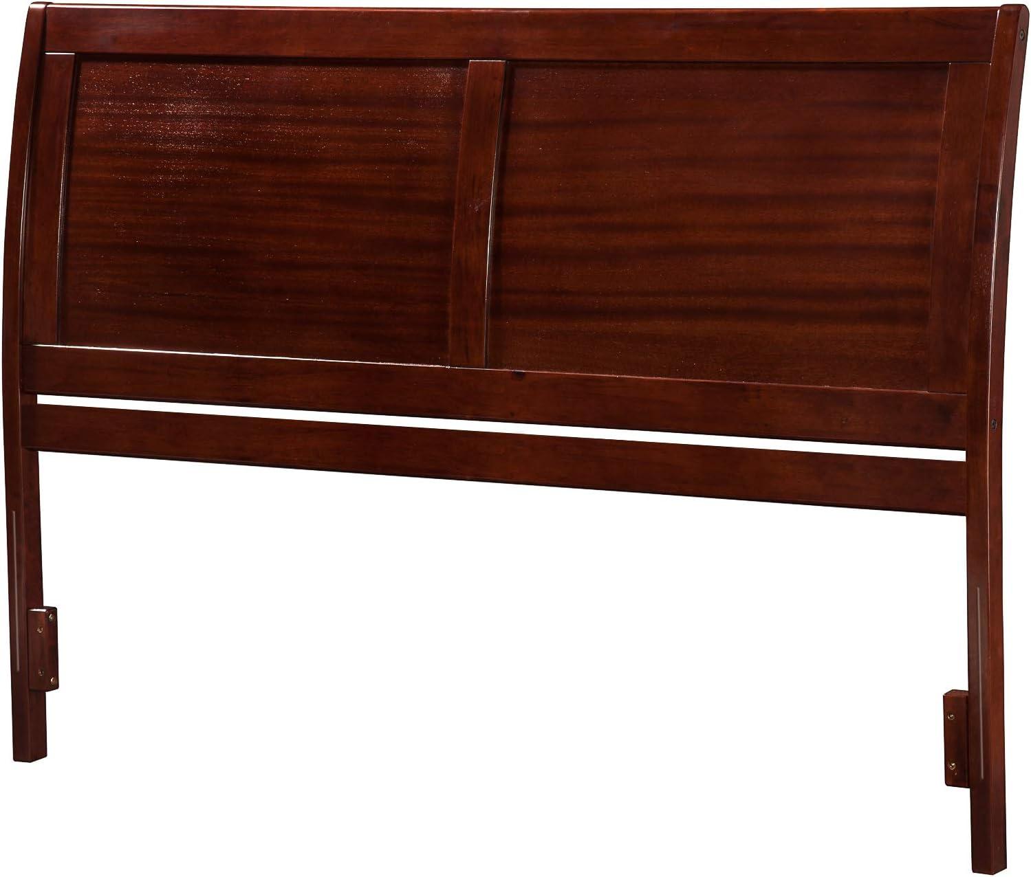 Atlantic Furniture AR289844 Portland Headboard, Queen, Walnut
