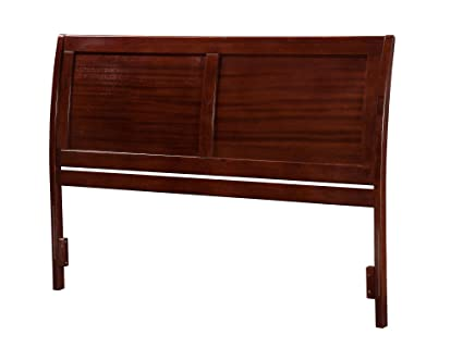 Atlantic Furniture Portland Headboard, King, Antique Walnut - Amazon.com: Atlantic Furniture Portland Headboard, King, Antique