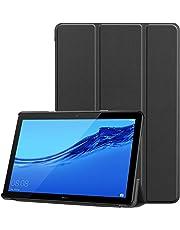 TopACE Coque Etui Housse Huawei MediaPad T5 10,Ultra Slim Etui Huawei MediaPad T5 10 Housse Qualité Stand Folio Case pour MediaPad T5 10 (Noir)