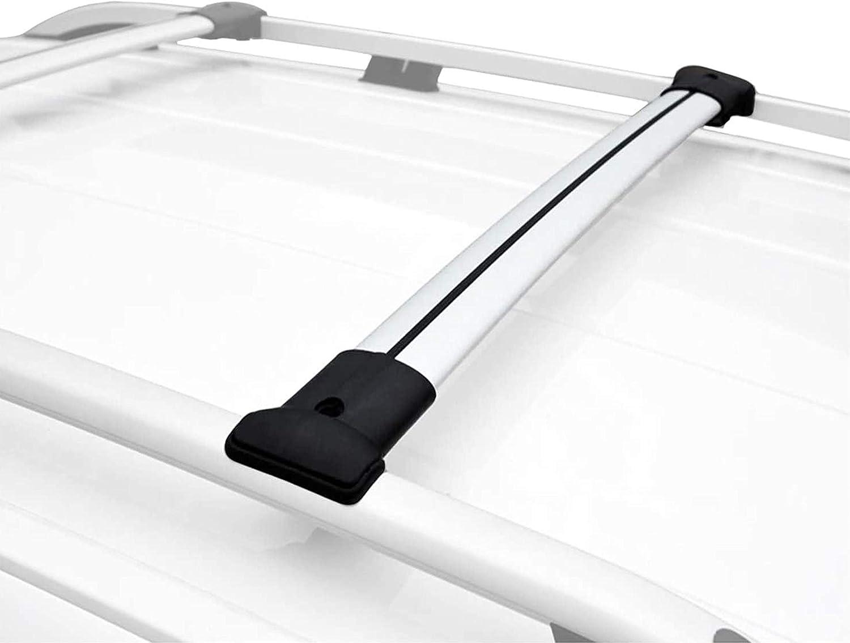 RE/&AR Tuning Per VW Tiguan 2007-2016 Barre Portatutto Portapacchi Alluminio Grigio