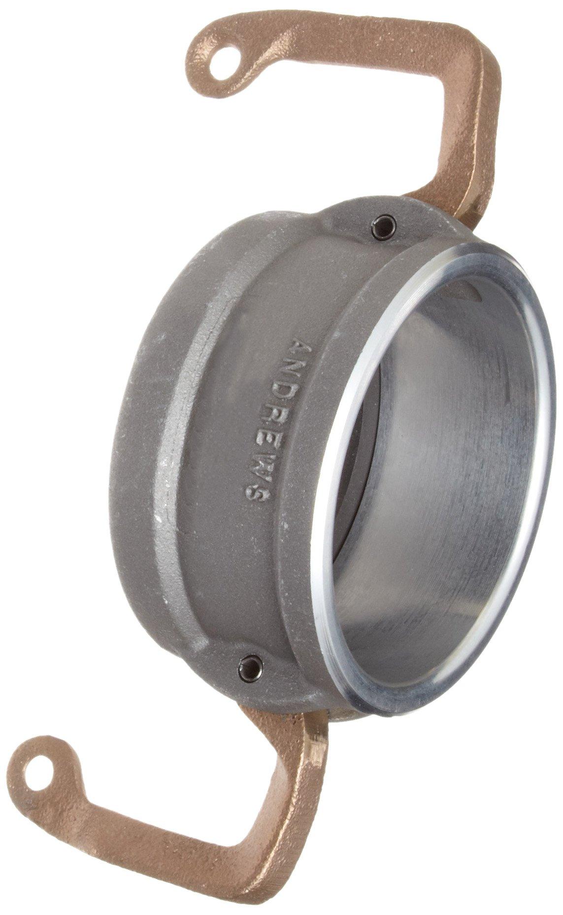Dixon 400DC-LAL Aluminum Cam and Groove Hose Fitting, Lockable Dust Cap, 4''