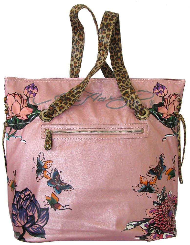 ... Amazon.com Ed Hardy Baby Diaper Bag Pink Lace up Poppy Design w Animal  Print ... feee01256e1c0