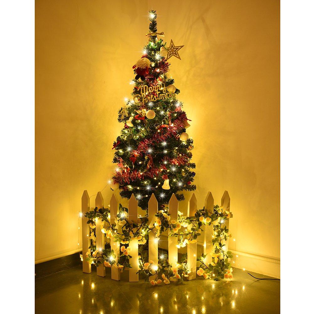 LEDGLE 6 PCS 7.5m 15 LED Corcho Micro Luces LED para Botella de Vino, Luces Alambre de Cobre para Botella de Vino en Navidad Boda Partido Decoración o Noche ...