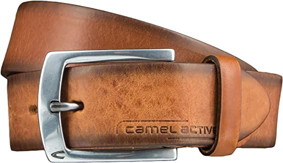 camel active LEDERGUERTEL 4026609B66 Herren Accessoires//G/ürtel