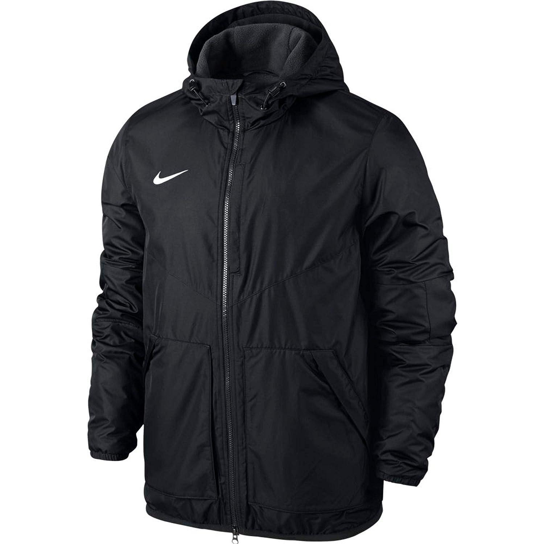 Nike Kinder Jacke Team Fall Jacket, Dark Obsidian/White, L
