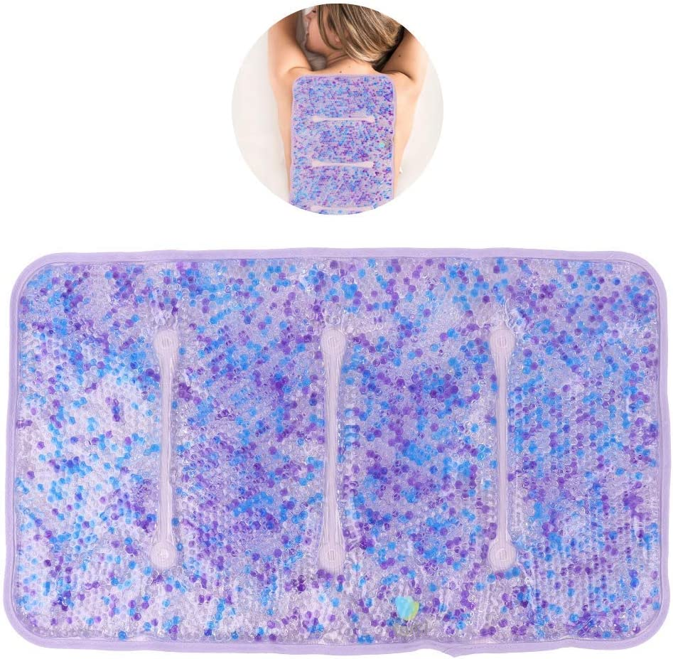 "Hot and Cold Large Gel Bead Pack by FOMI Care | 20"" x 12"" 