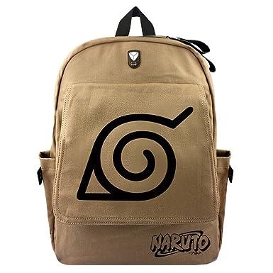 b37d8afb6630 Gumstyle Anime Naruto Backpack Rucksack Knapsack Schoolbag Book Bag Daypack  Satchel for Boys and Girls Cosplay
