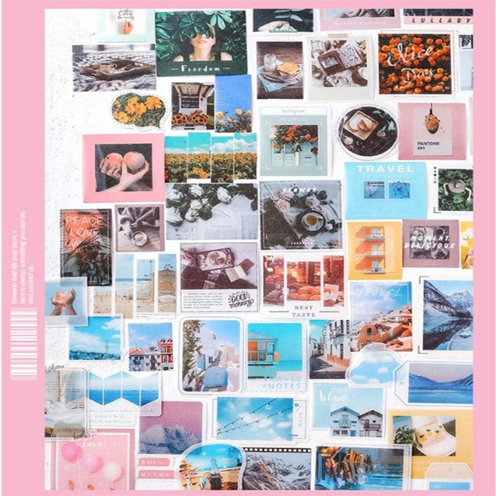 Tarjetas de Felicitaci/ón Cartas 320 Piezas Pegatina para Scrapbooking,Adhesivos Artesanales Autoadhesivos,Adhesivos Decorativos de Bricolaje,Adhesivos para /álbumes de Recortes Regalos