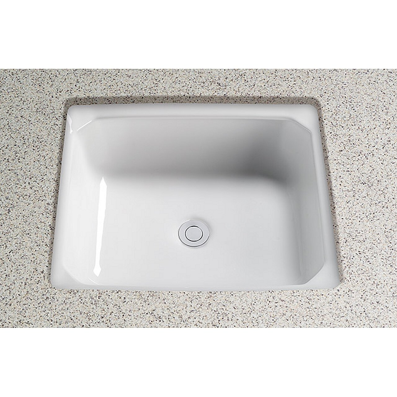 Toto LT973G#12 Guinevere Undercounter Lavatory with SanaGloss-ADA ...