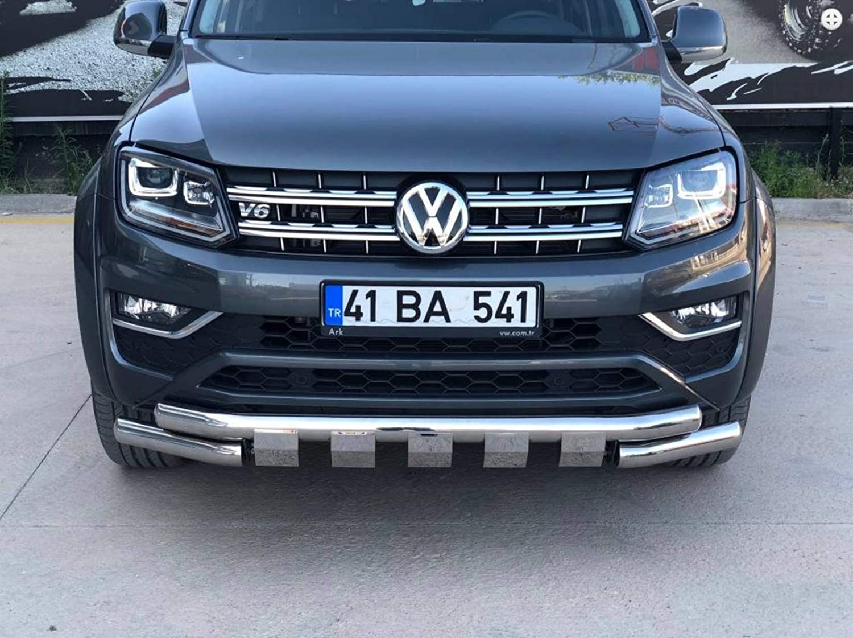 Pare-buffle chrom/é pour VW Amarok /à partir de 2017