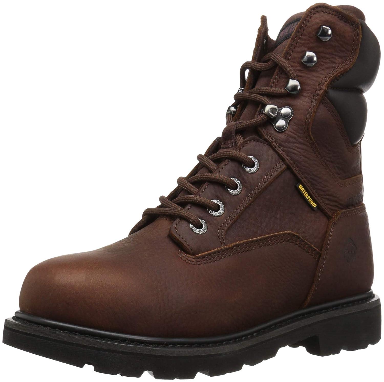 Rust Wolverine Men's Farmhand 8'' Soft Toe Construction Boot