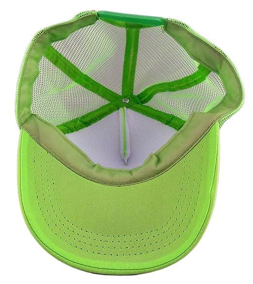 3e783bc4390a3 Amazon.com  Funny Guy Mugs Rage Neon Green Trucker Hat  Clothing