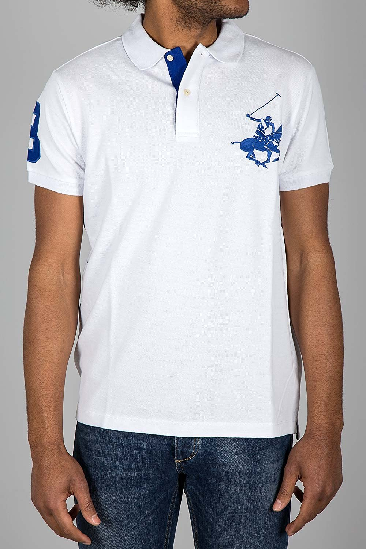 BEVERLY HILLS POLO CLUB - Camiseta deportiva - para hombre blanco ...