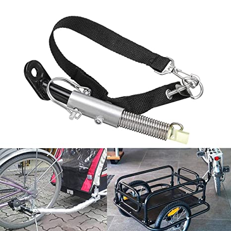 Universal Bike Trailer Hitch Connector Bicycle Rear Rack Accessories Baby//Pet